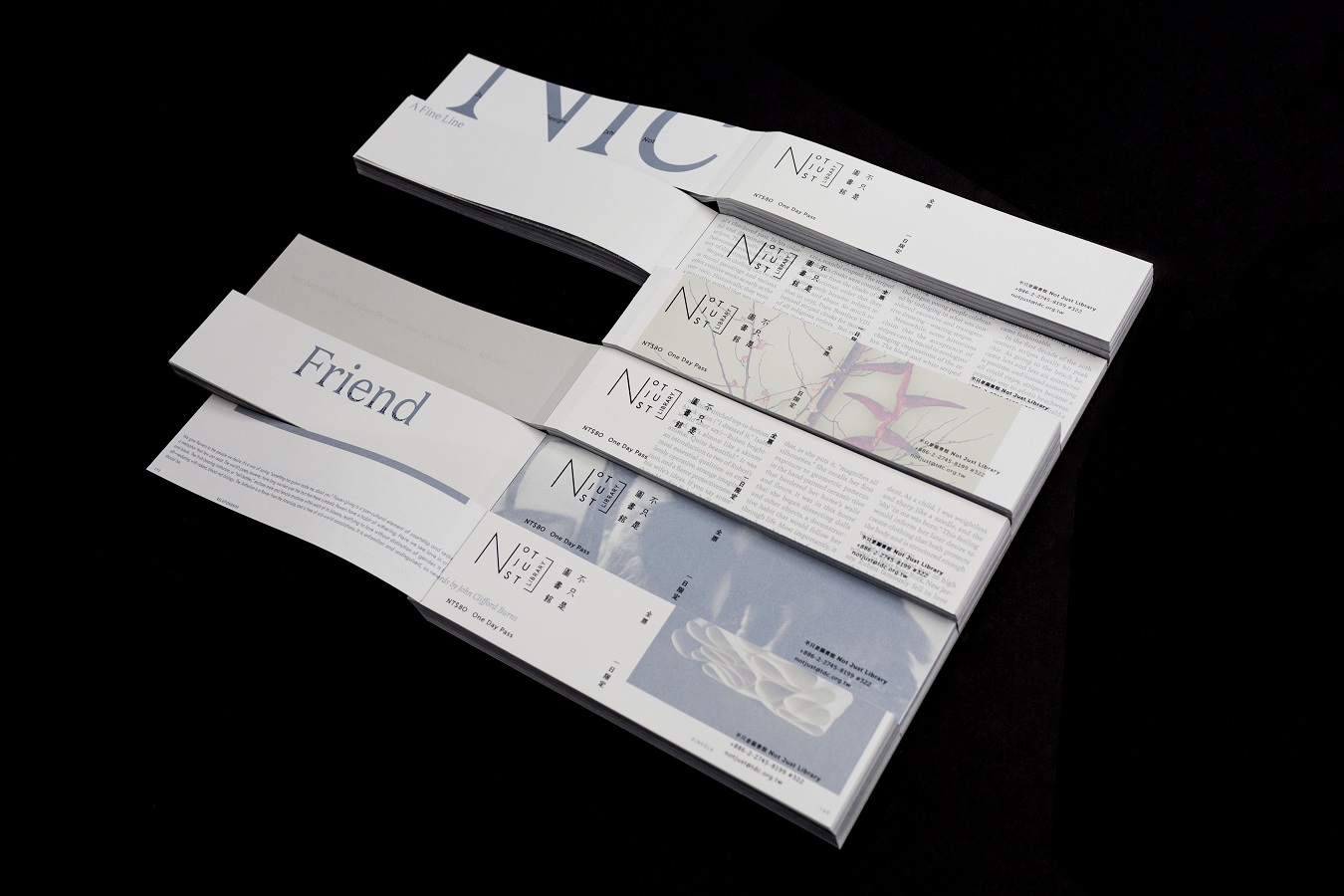 過期雜誌再運用,不只設計、建立驚喜、挑起互動—NOT JUST LIBRARY 2018限定設計票券公開!