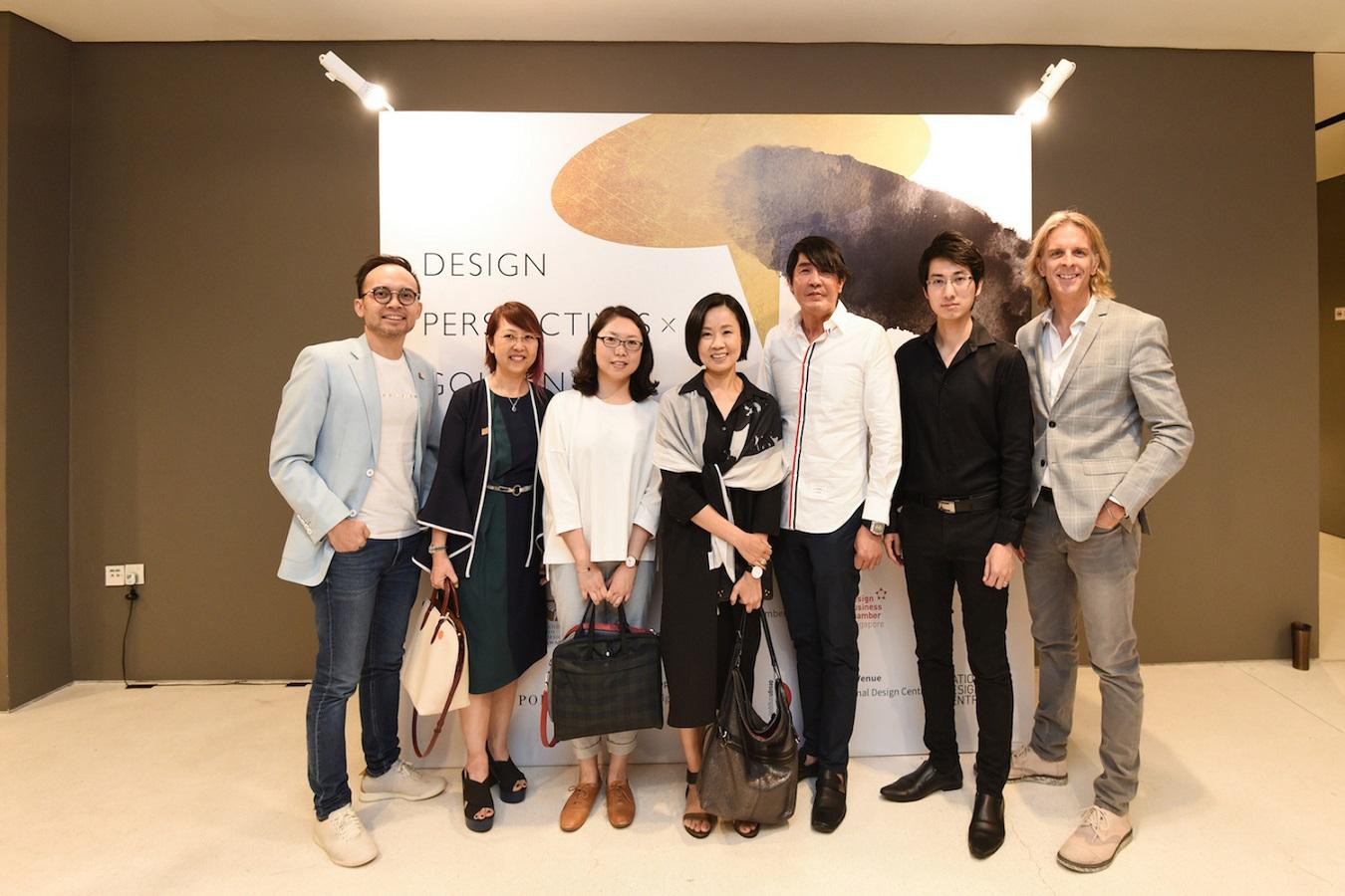 「華人設計觀點 x 金點沙龍」首度前進新加坡 5月31日座談會反應熱烈