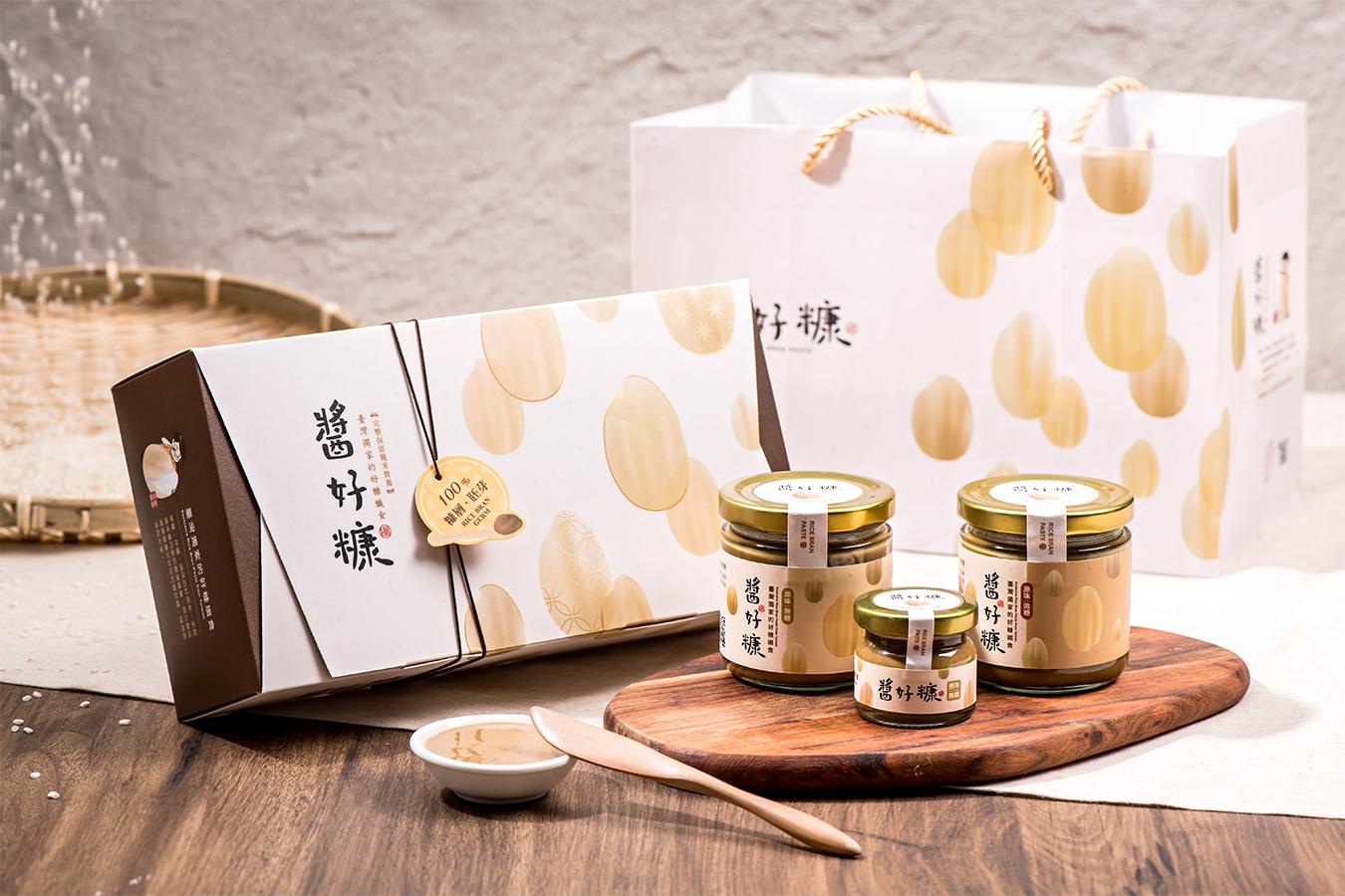 米糠米麩如何走向精緻化禮贈市場? ─ 醬好糠