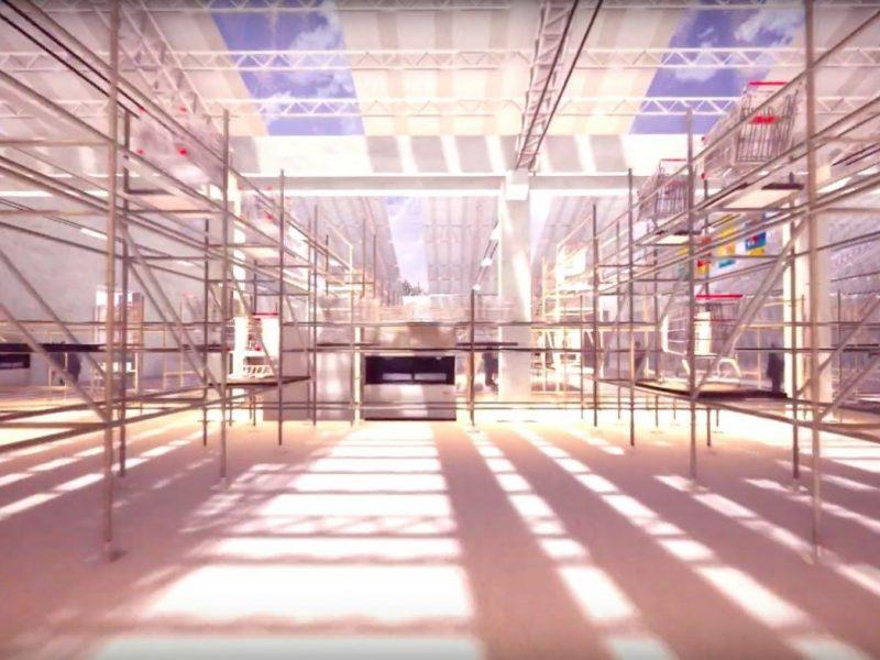 這展場太狂!2019台灣設計展在屏東 2千坪主展場打造超級市場「雲霄推車」