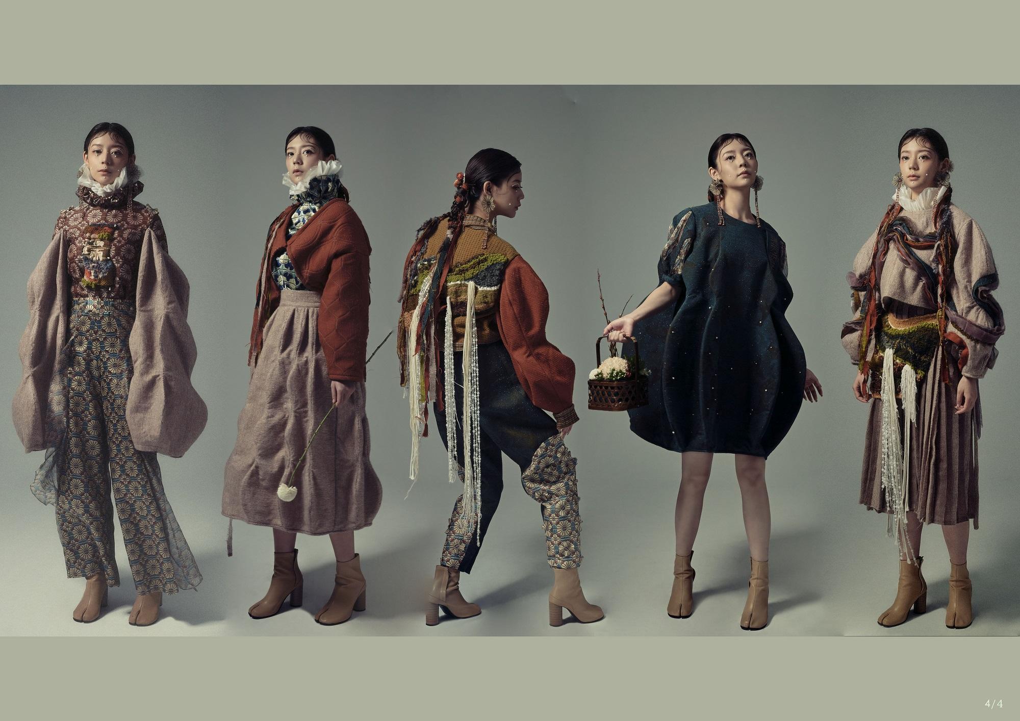 時尚設計類入圍作品:瑞芳囡仔(嶺東科技大學服飾設計系)