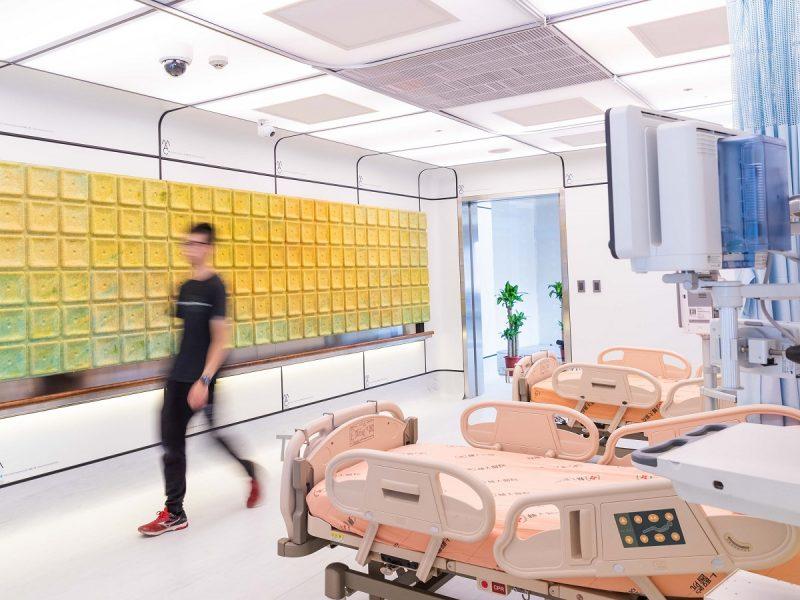 經濟部與衛福部合作、設計研究院策劃 打造智慧防疫病房