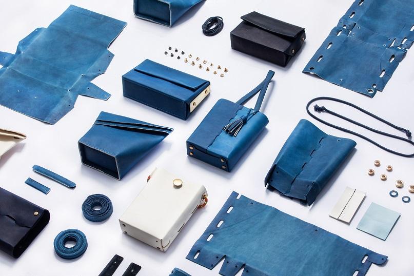 卓也 / 2019藍染與皮革創新設計 Dyeing & Redyeing