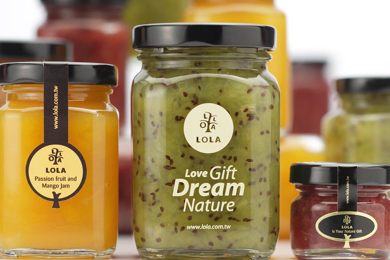 蘿拉果醬LOLA 品牌/包裝設計
