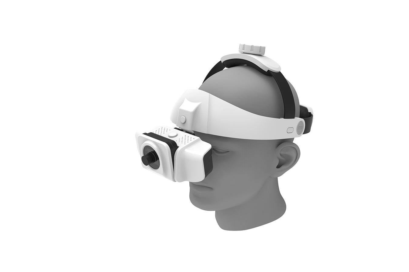 皮下靜脈顯像用眼鏡裝置