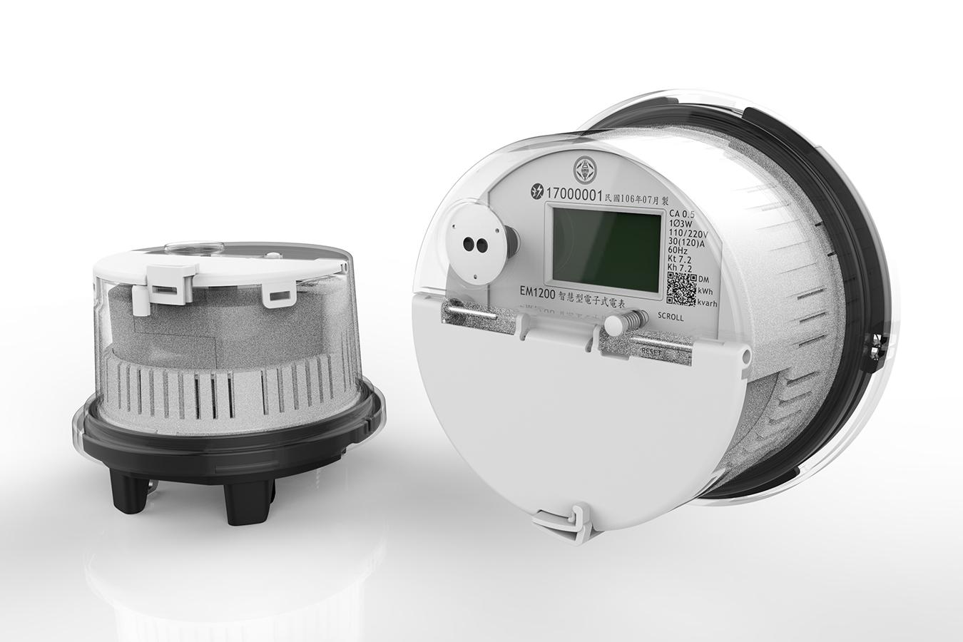 AD120單向二線智慧電表示範設計