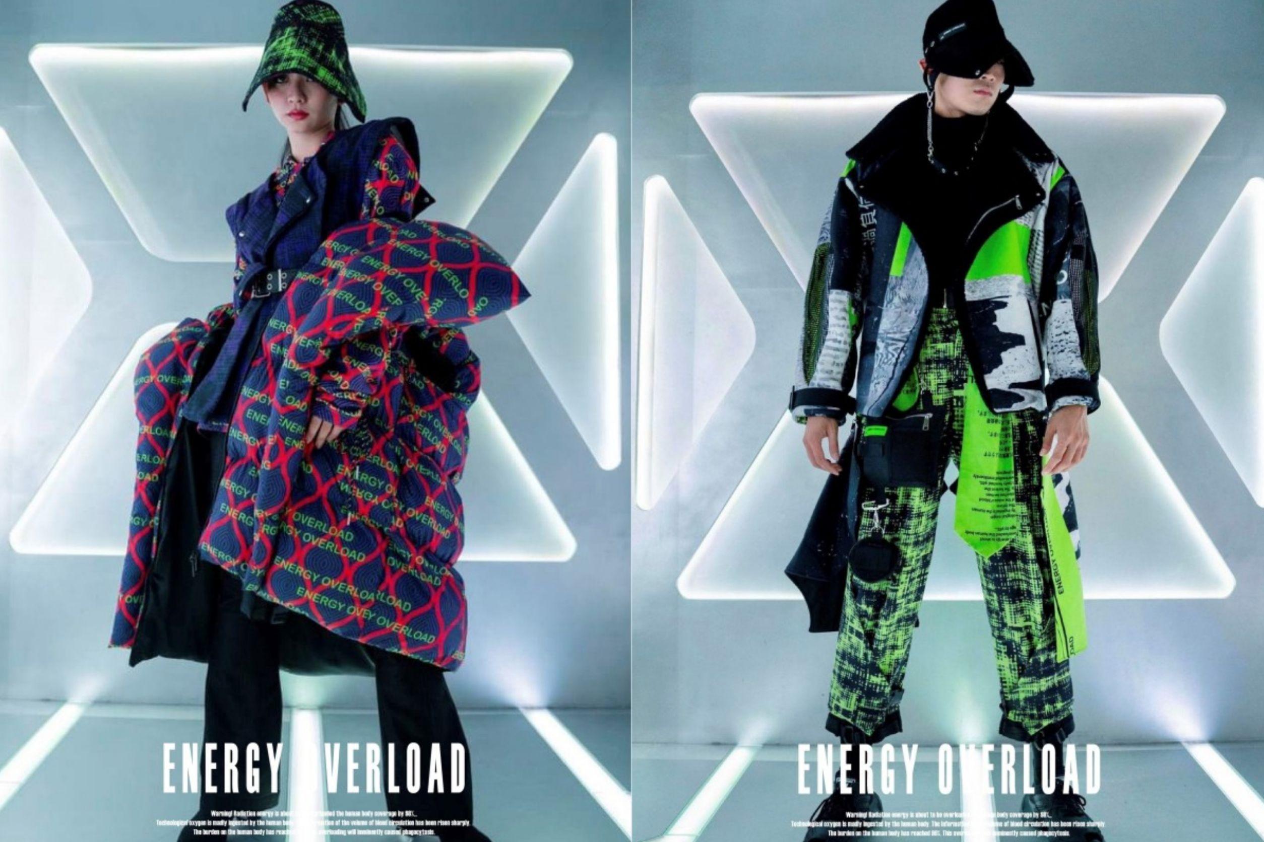 時尚設計類:「全球性警報-W」(張雅婷、王俊傑、方曉恩、謝鎧如、鄭伃庭,樹德科技大學流行設計系)