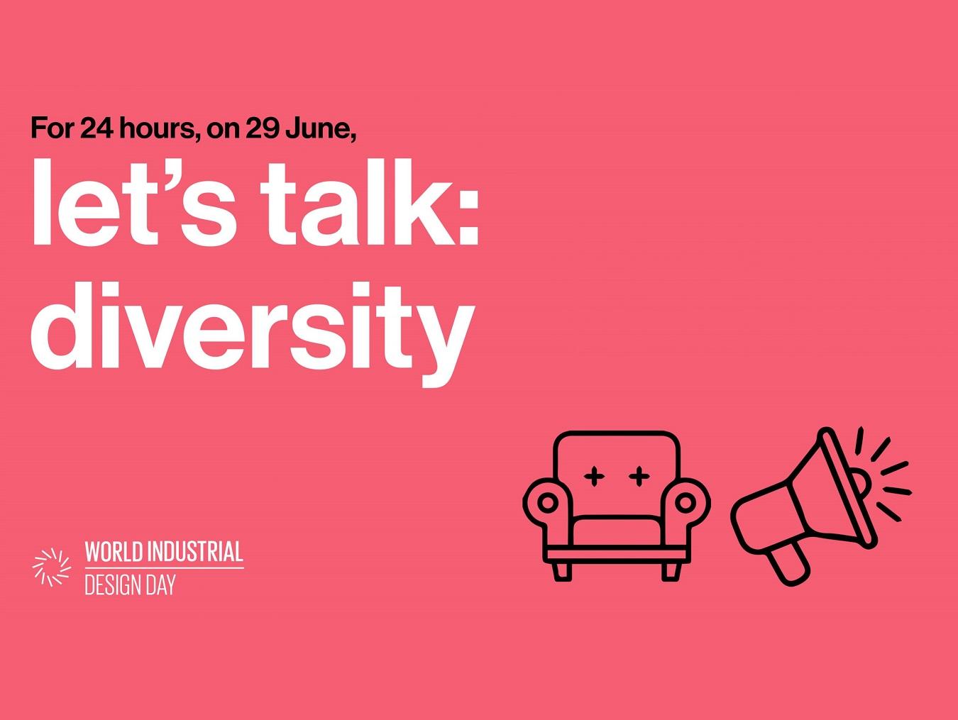629世界工業設計日「Let's talk : diversity」台灣設計與國際對話